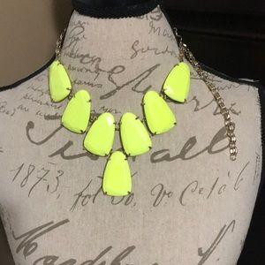 Kendra Scott neon yellow Harlow